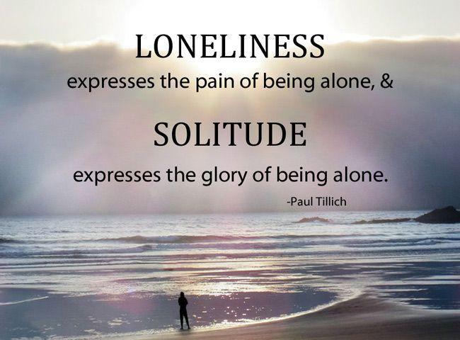 loneliness solitutde